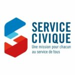 Logo Service Civique - accueil