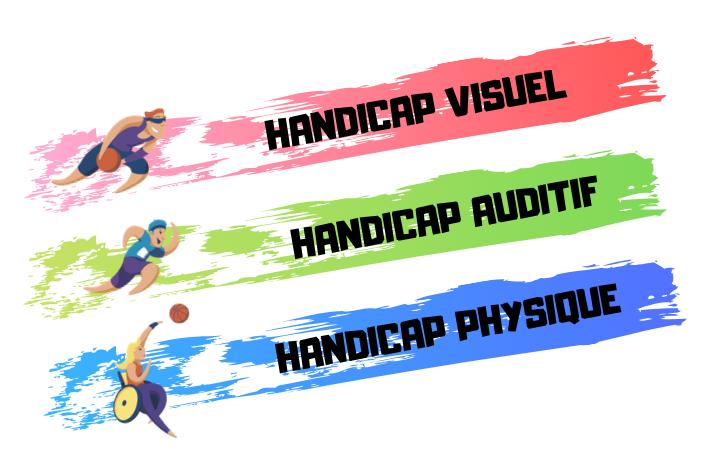 vignette handicap visuel - accueil - handicap auditif - handicap physique