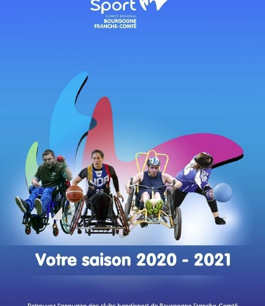 Image article magazine handisport BFC 2020-2021